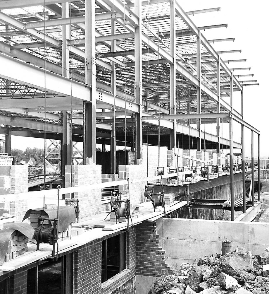 Construction of a second wing in Williamsport