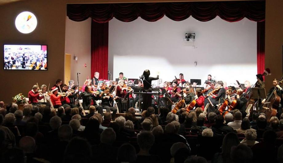 Altoona Symphony Orchestra performance at The Bice Chapel/Givler Cultural Center in Martinsburg