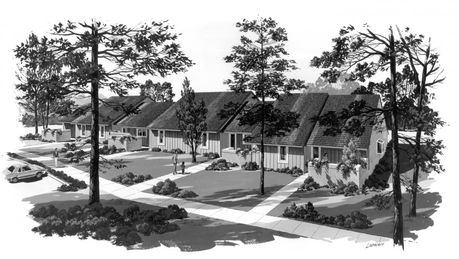 Artist Rendering of the New Cottages at Williamsport