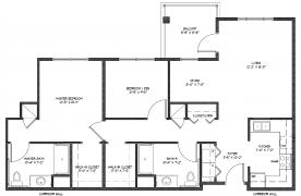 Two Bedroom Apartment - 1014 Square Feet