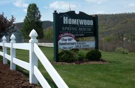 Homewood at Spring House Estates Sign